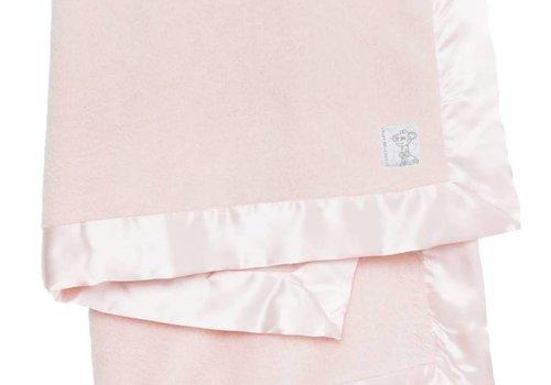 Little Giraffe Little Giraffe Powder Plush Blanket In Pink