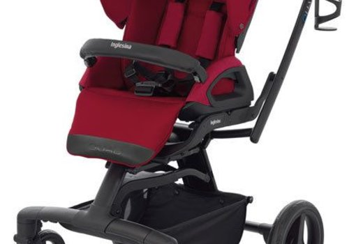 Inglesina 2017 Quad Stroller In Intense Red