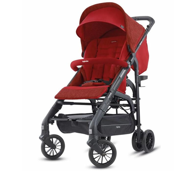 2018 Inglesina Zippy Light Stroller In Brick Red