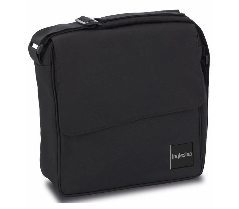 Inglesina Quad/Trilogy City Diaper Bag In Total Black