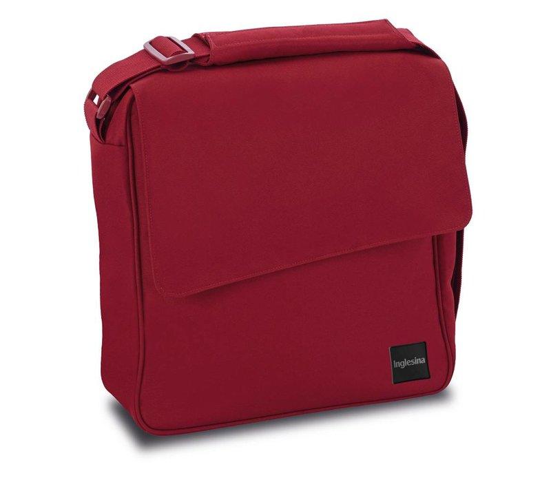 Inglesina Quad/Trilogy City Diaper Bag In Intense Red