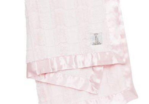 Little Giraffe Little Giraffe Luxe Waterfall Blanket In Pink