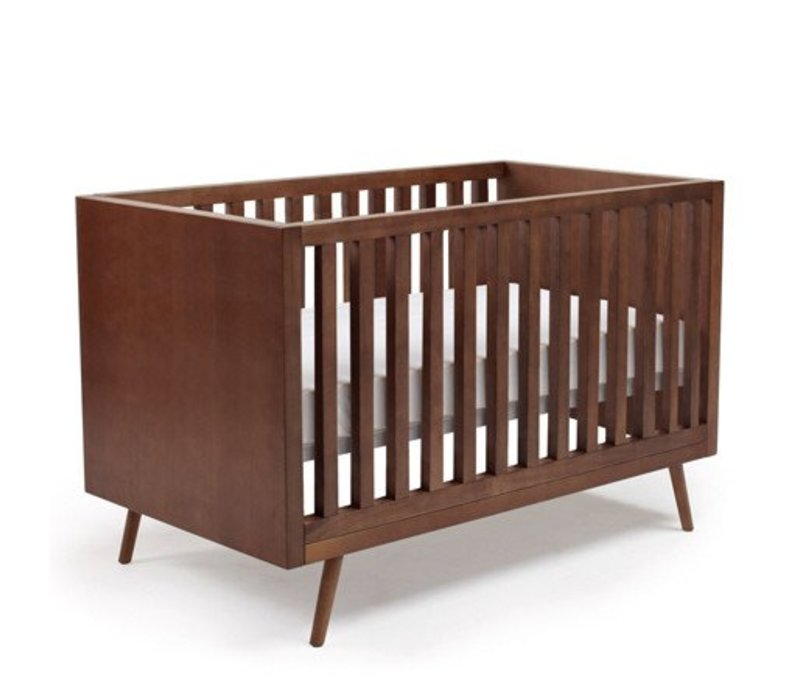 Ubabub Nifty Timber Crib In Walnut