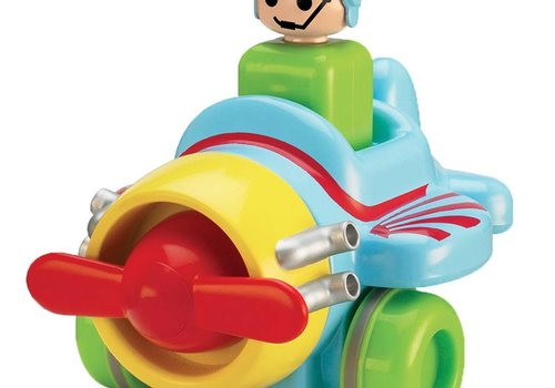 Tomy Tomy Wacky Push And Go Plane