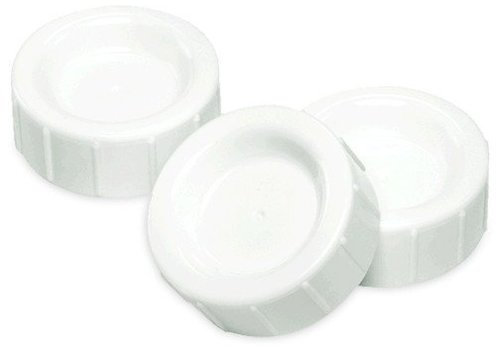 Dr. Brown CLOSEOUT!! Dr. Browns Standard Neck Replacement Storage/Travel Caps (3 In A Pack)