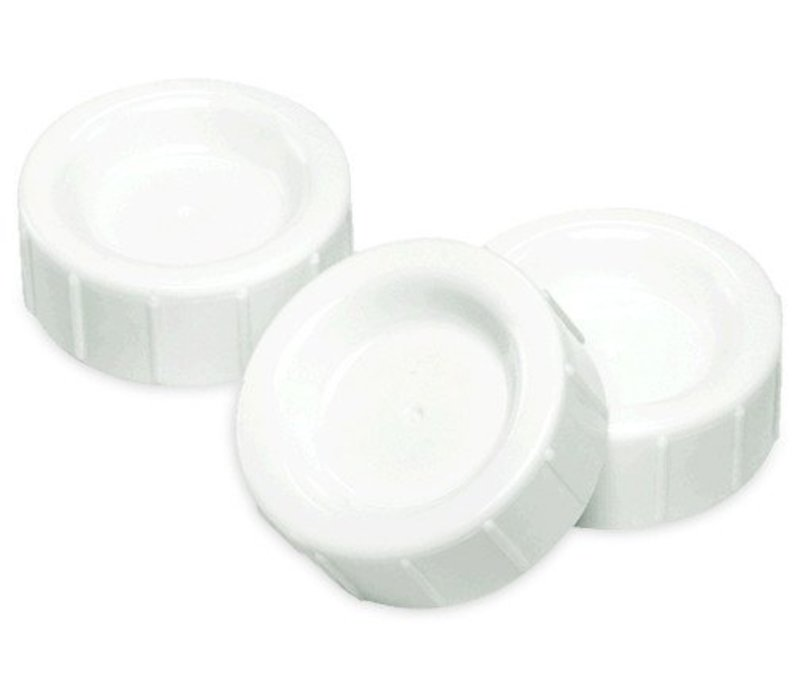 Dr. Browns Standard Neck Replacement Storage/Travel Caps (3 In A Pack)