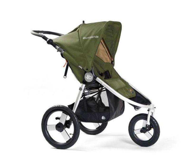 2017 Bumbleride Speed Stroller in Camp Green