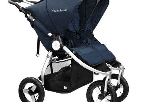 Bumbleride 2017 Bumbleride Indie Twin Stroller In Maritime Blue