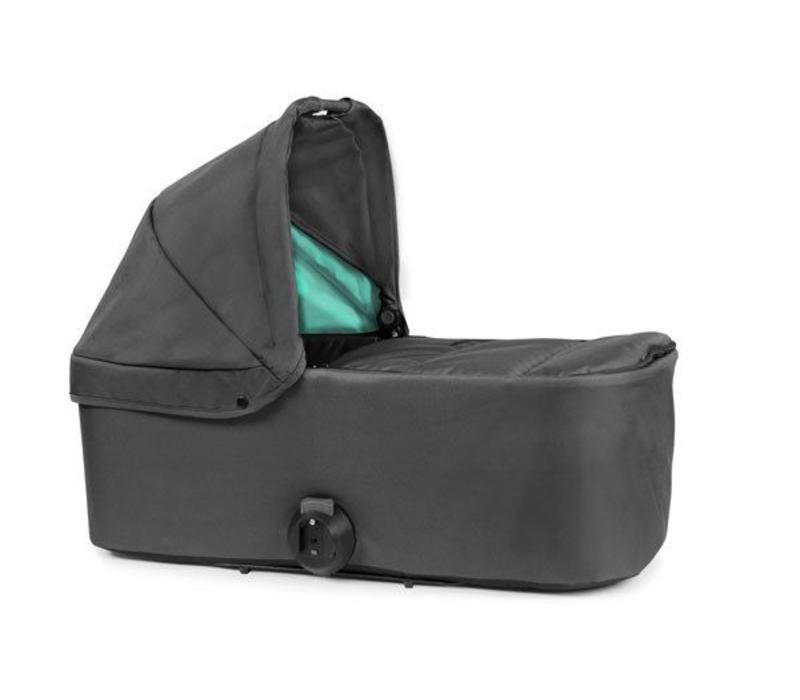 2017 Bumbleride Indie Single Bassinet-Carrycot In Dawn Grey