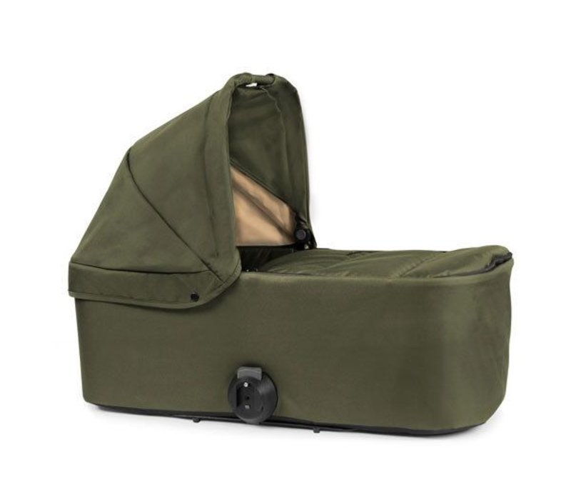 2017 Bumbleride Indie Twin Bassinet-Carrycot In Camp Green