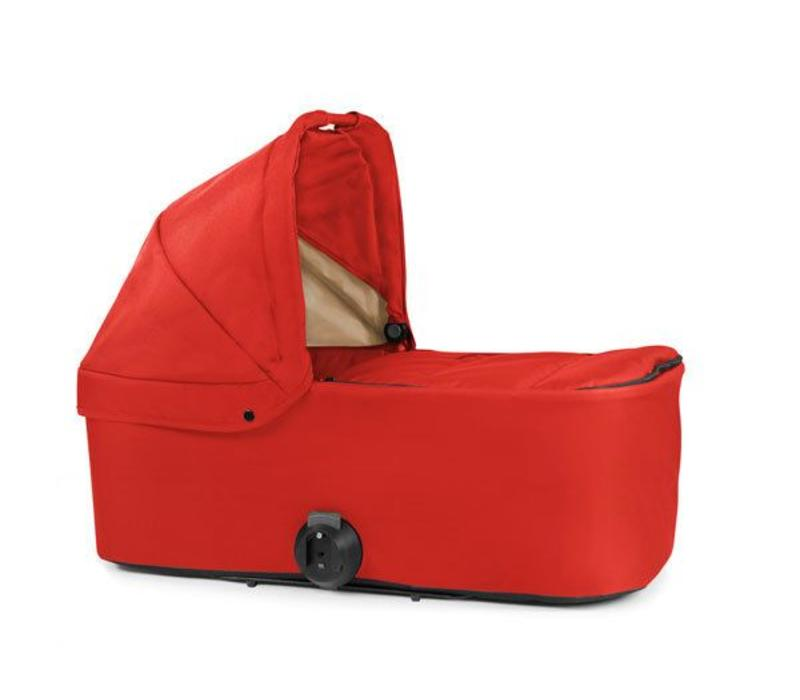 2017 Bumbleride Indie Twin Bassinet-Carrycot In Red Sand