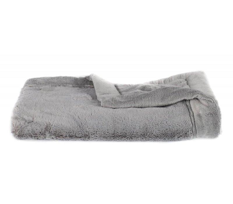 Saranoni Receiving Blanket In Gray Lush/Gray Lush Medium 30'' x 40''