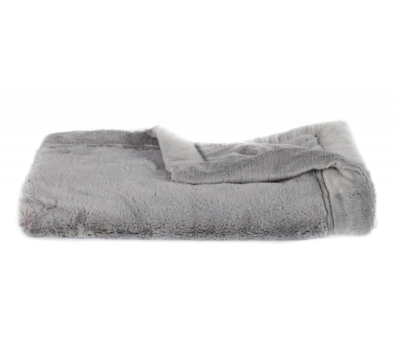 Saranoni Blanket In Gray Lush/Gray Lush Toddler to Teen Large 40'' x 60''