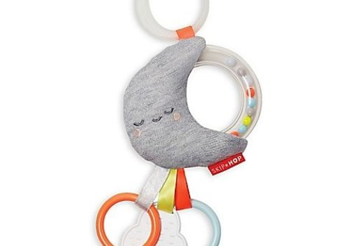 Skip Hop Skip Hop Lining Cloud Rattle Moon Stroller Toy