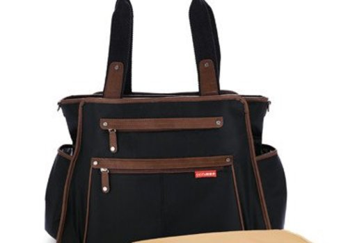 Skip Hop Skip Hop Grand Central Take It All Diaper Bag In Black