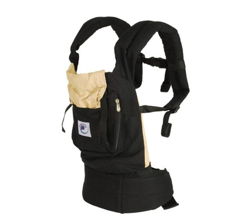 Ergobaby Original Baby Carrier In Black-Camel