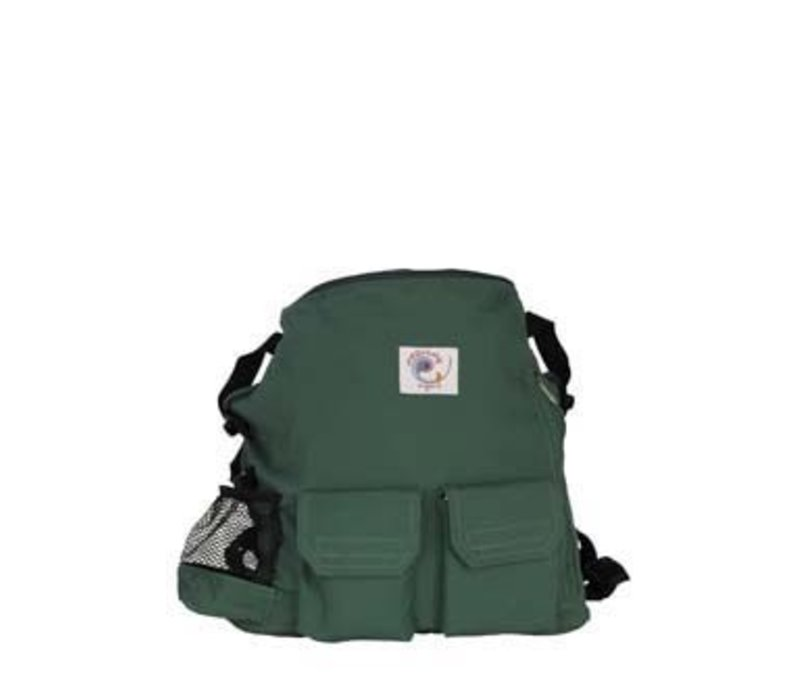 CLOSEOUT!!! Ergobaby Back Pack In Organic Forest Green