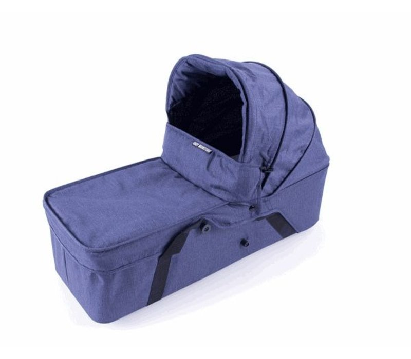 Baby Monsters Easy Twin Main Carrycot - Denim Right Side - Denim (Jeans)