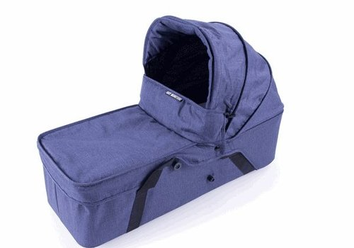 Baby Monster Baby Monsters Easy Twin Side Carrycot - Denim Left Side - Denim (Jeans)
