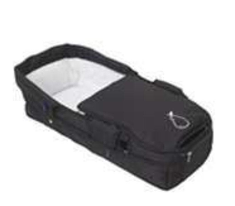 CLOSEOUT!!! iCandy Pear Upper Fabric Carrycot in Black