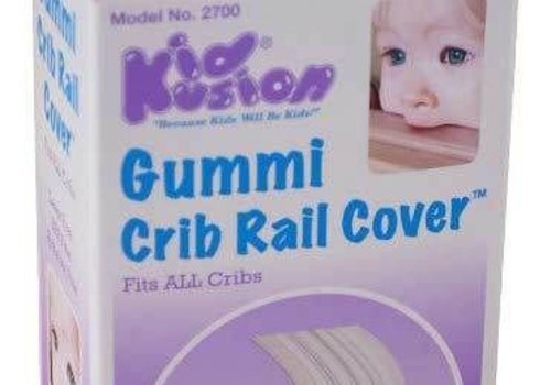 Kid Kusion Kid Kusion Gummi Crib Rail Clear