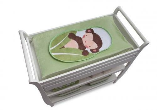 Boppy **FINAL SALE** Boppy Changing Pad Fabric In Heirloom Changing Pad Set - Monkey