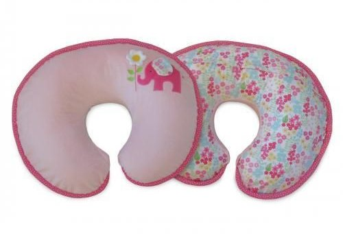 Boppy Boppy Pillow In Elephant Garden Luxe Pillow