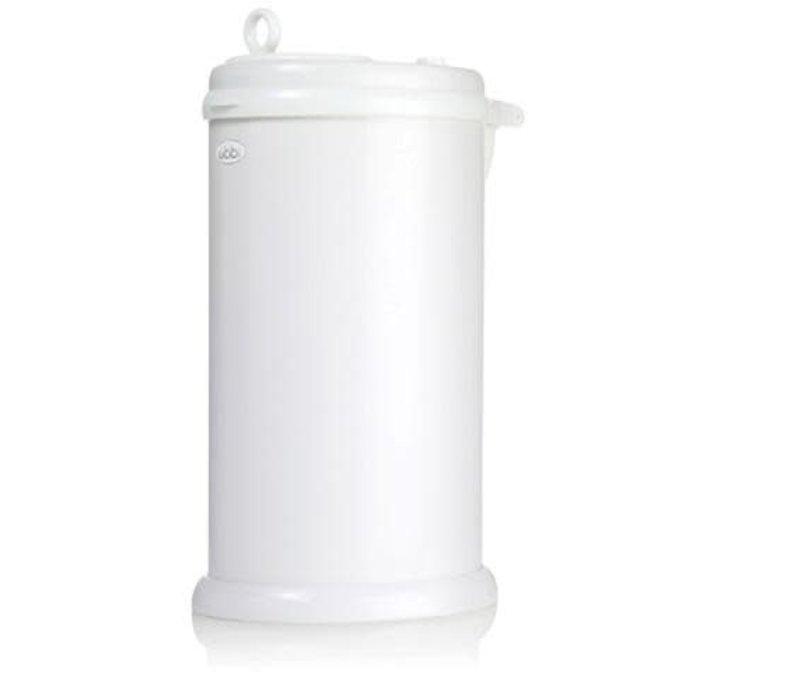 Ubbi Diaper Pail In White