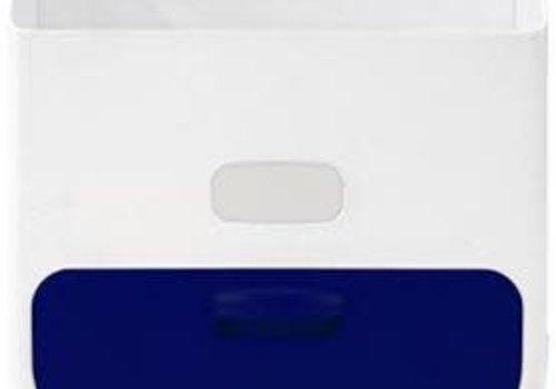 Ubbi World Ubbi Diaper Caddy In Navy-White