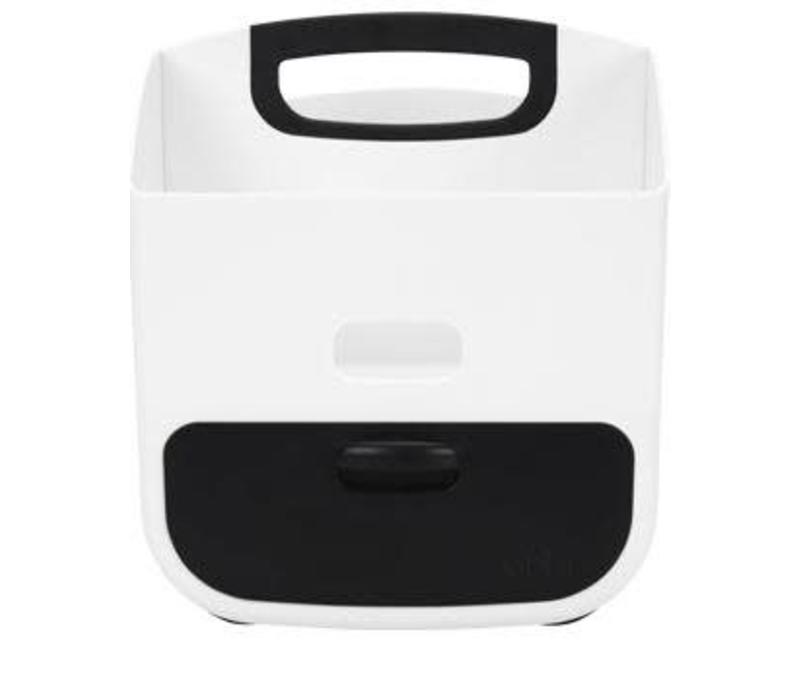 Ubbi Diaper Caddy In Black-White