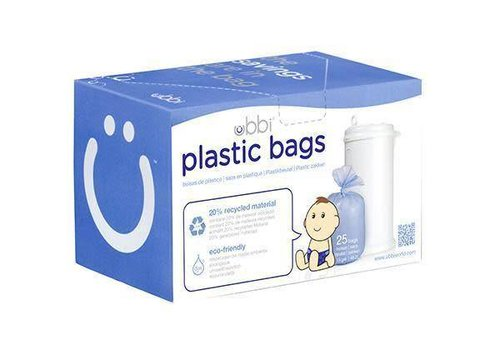 Ubbi World Ubbi 25 Plastic Bags In White