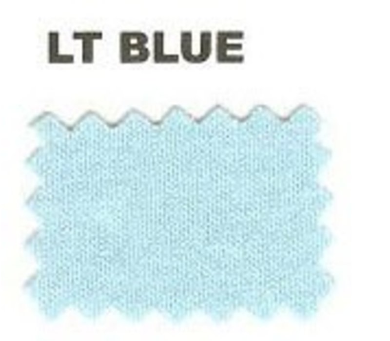 Crib Critters Knit Cradle Sheet In Light Blue
