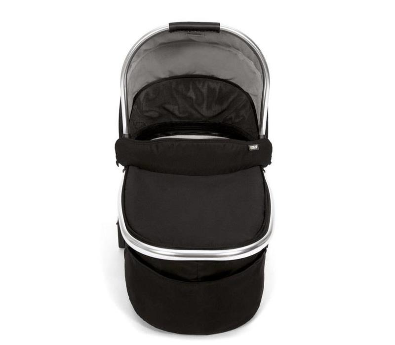 Mamas And Papas Urbo 2 Chrome Carrycot In Black