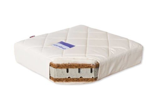 "Natural Mat Natural Mat Organic Crib Mattress In Spring (28"" x 52"")"