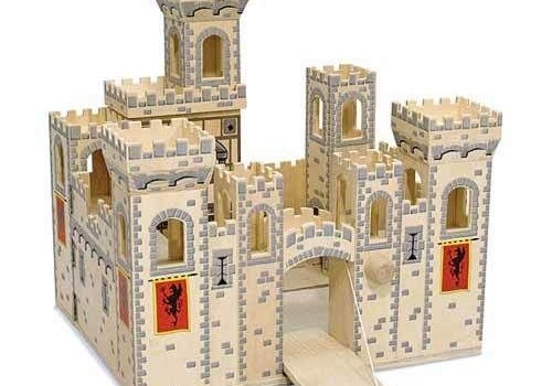 Melissa And Doug Melissa And Doug Folding Medieval Castle