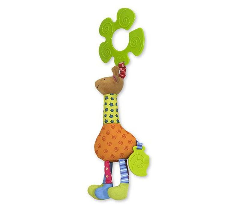 Melissa And Doug Funky Giraffe Stroller Toy