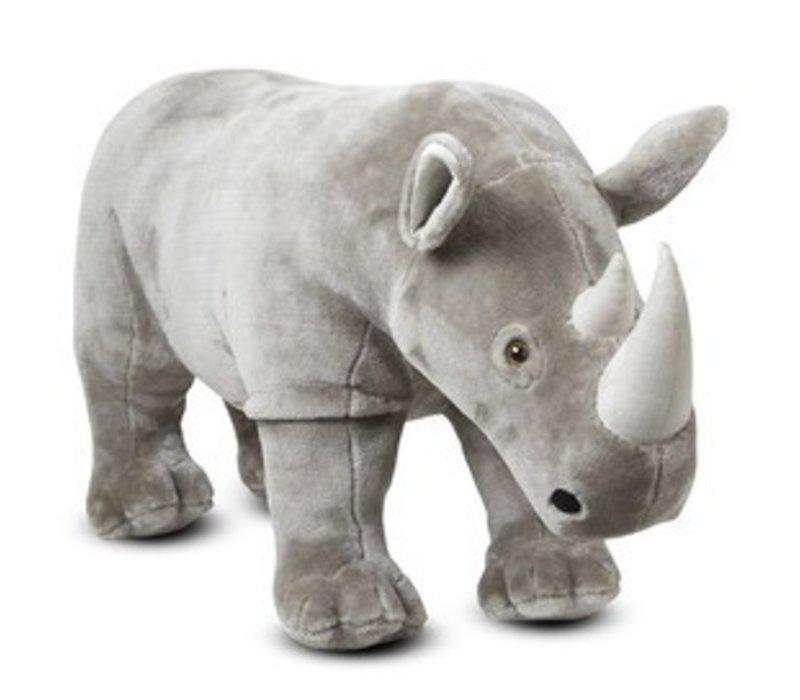 Melissa And Doug Rhinoceros - Plush