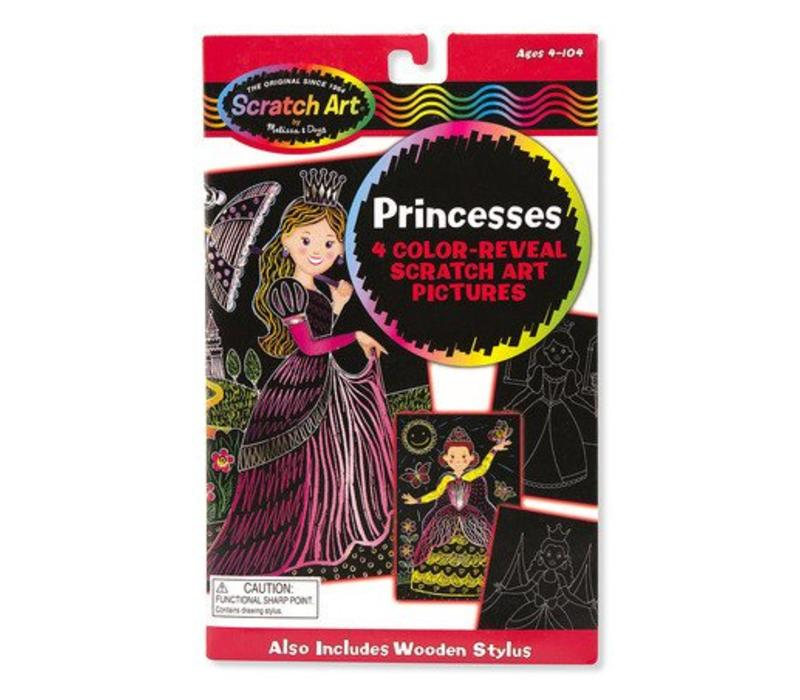 Melissa And Doug Color-Reveal Pictures - Princess