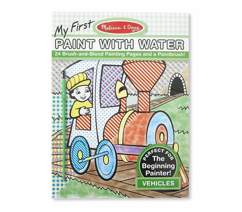Melissa And Doug My First Paint With Vehicles