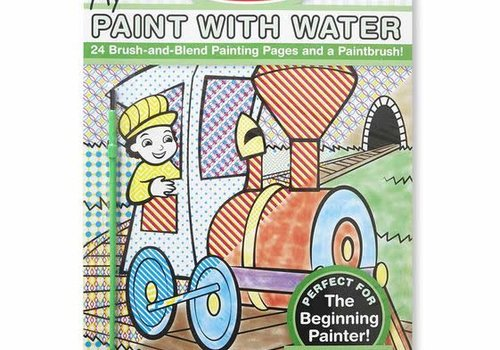 Melissa And Doug Melissa And Doug Paint With Water - Vehicles