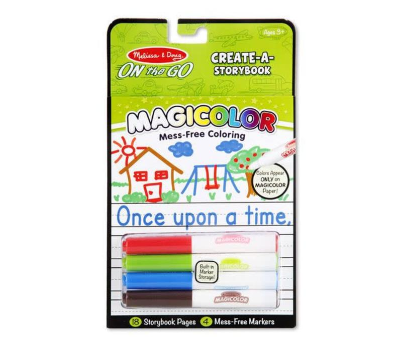 Melissa And Doug Magicolor Color Your Own Sticker Book Storybook