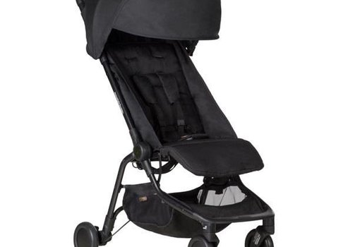 Mountain Buggy 2017 Mountain Buggy Nano Travel Single Stroller In Black
