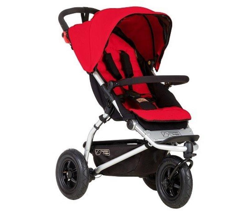 Mountain Buggy Swift Stroller In Berry