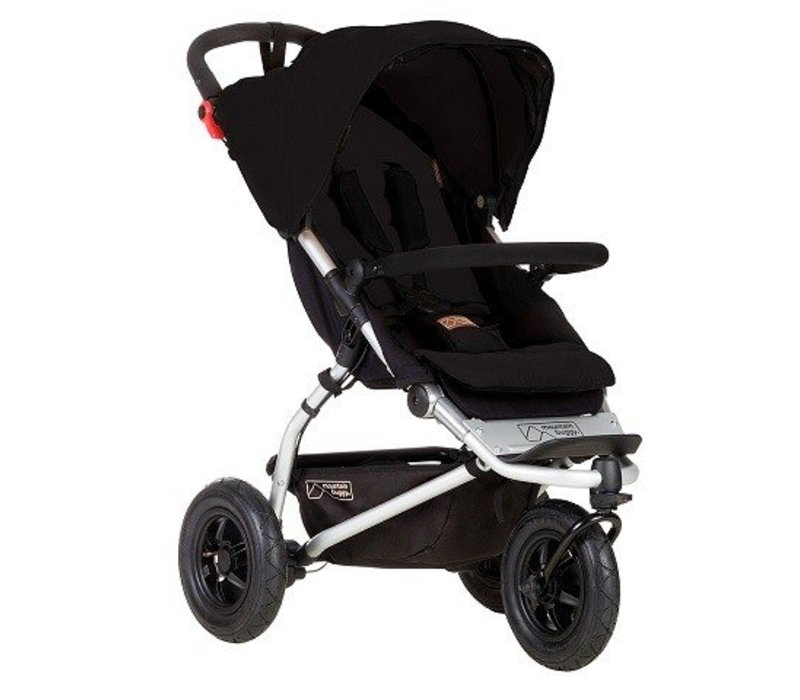 2017 Mountain Buggy Swift Stroller In Black