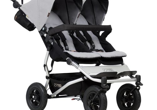 Mountain Buggy Mountain Buggy Duet Double In Silver