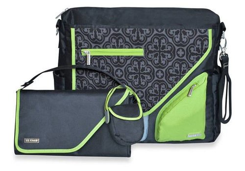 JJ Cole Collections JJ Cole Metra Diaper Bag Midnight Clover