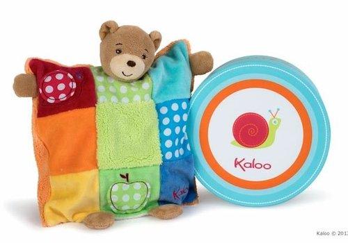 Kaloo Kaloo Colors Doudou Bear Patchwork