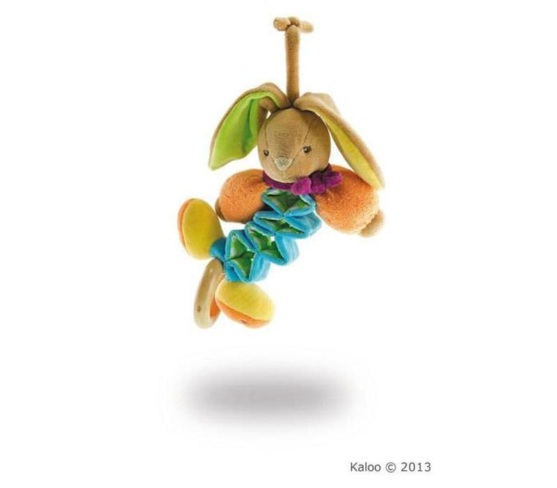 Kaloo Colors Mini Zig Music Rabbit
