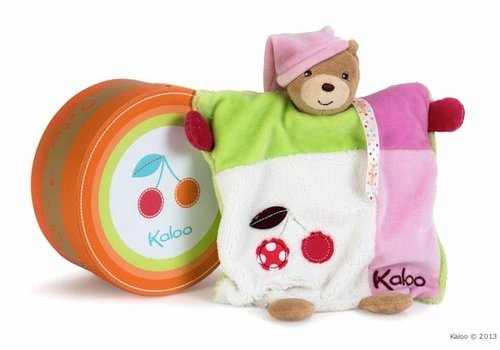 Kaloo Kaloo Colors Doudou Bear Puppet Handpuppet