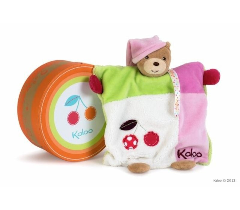 Kaloo Colors Doudou Bear Puppet Handpuppet